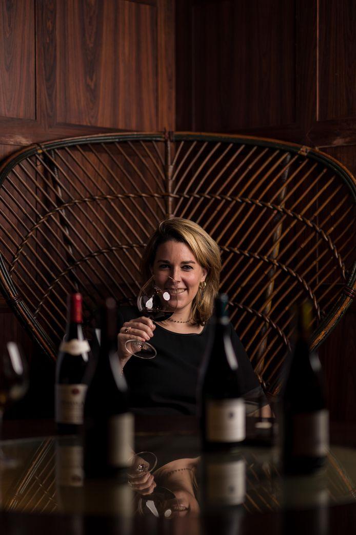 Als groepsommelier bedenkt Marie-Paule Herman de wijnprogramma's voor alle restaurants van de restaurantgroep.