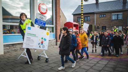 Leerlingen Sint-Lieven Kolegem nemen schoolstraten in gebruik