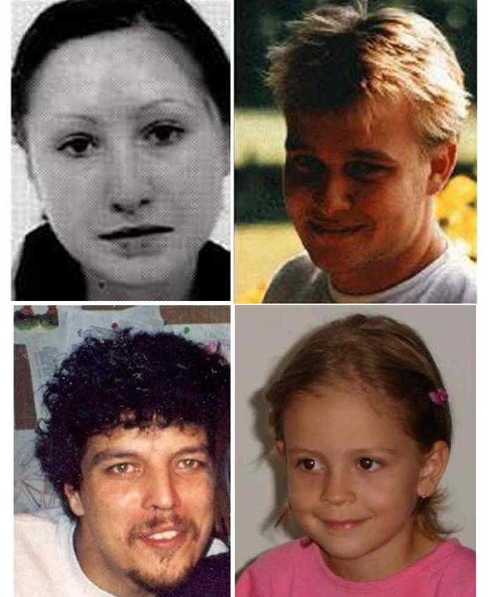 De vier officieel vermisten uit Twente