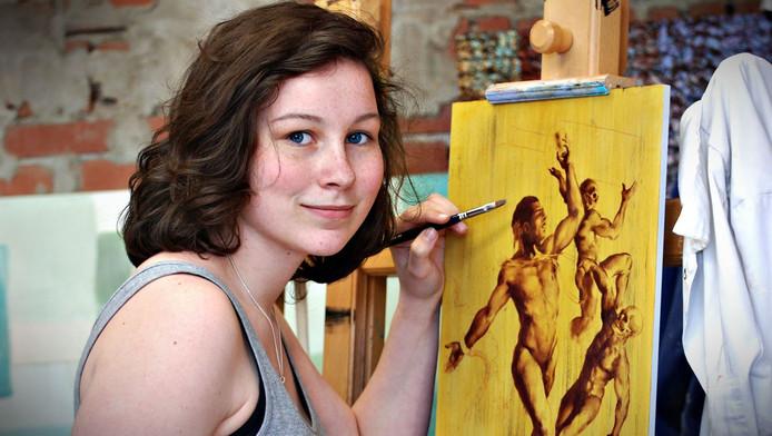 Tessa Aalbregt uit 's-Gravenzande exposeert deze week in New York.