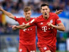 Hattrick Lewandowski bezorgt Bayern eerste Bundesliga-zege