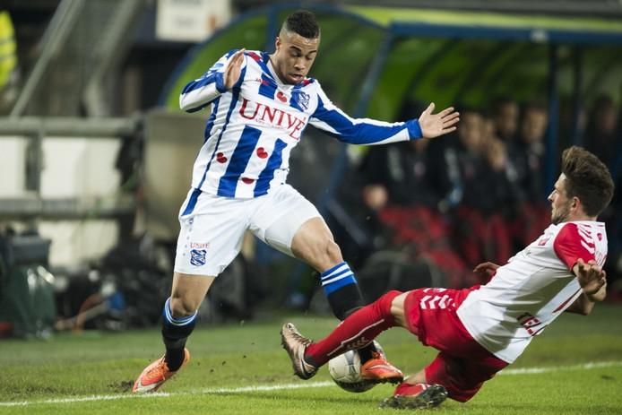 Pele van Anholt speelde vorig seizoen nog voor SC Heerenveen.
