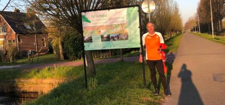 Geen marathon voor Roel, maar die 5.000 euro sponsorgeld krijgt het Parkinsonfonds wel gewoon