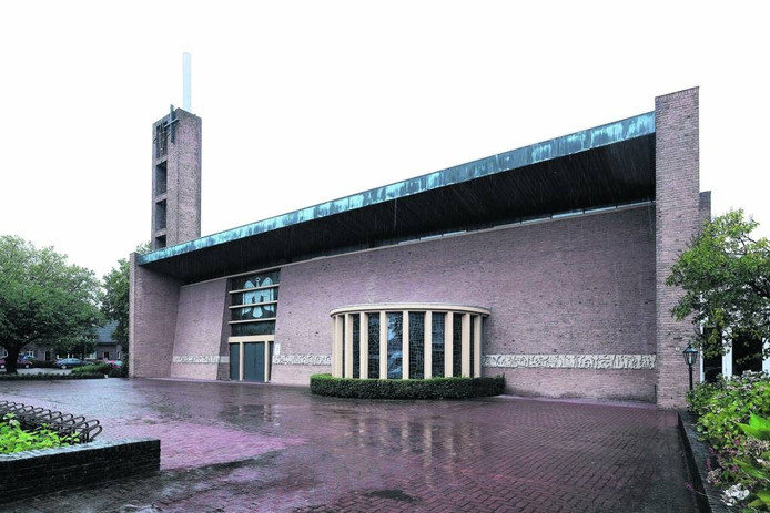 De Heilige Geestkerk in Doetinchem.