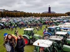 Let op: 6000 boeren op tractor komen woensdag naar Den Haag, stad 'flexibel afgesloten'