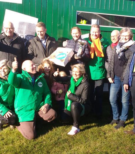 Pipowagen van CDA Epe als campagnemiddel oogst applaus
