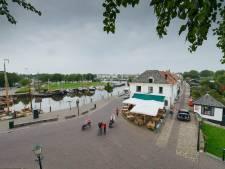 Het Havendijkje in Elburg is instabiel, 'maar zal niet morgen in elkaar zakken'