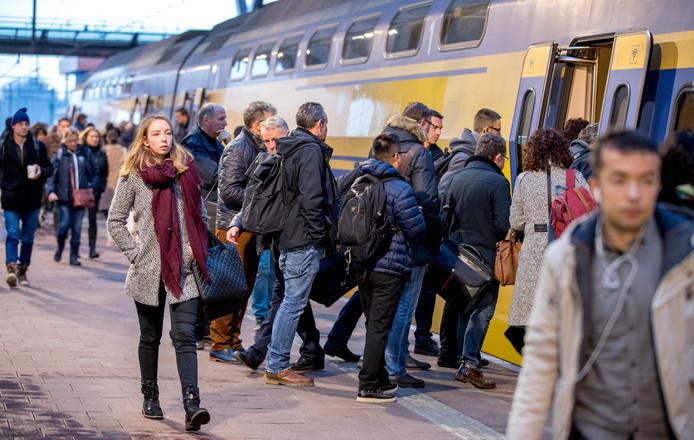 Reizigers moeten rekening houden met extra reistijd.