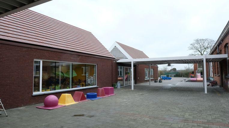 De gebouwen van Klavertje 3.