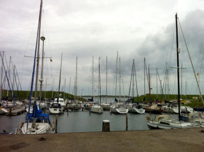 De jachthaven van Scharendijke.