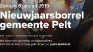 Eerste nieuwjaarsborrel in Pelt