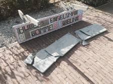 Mozaïeken bankje Nijkerk stuk na 'harde klap'
