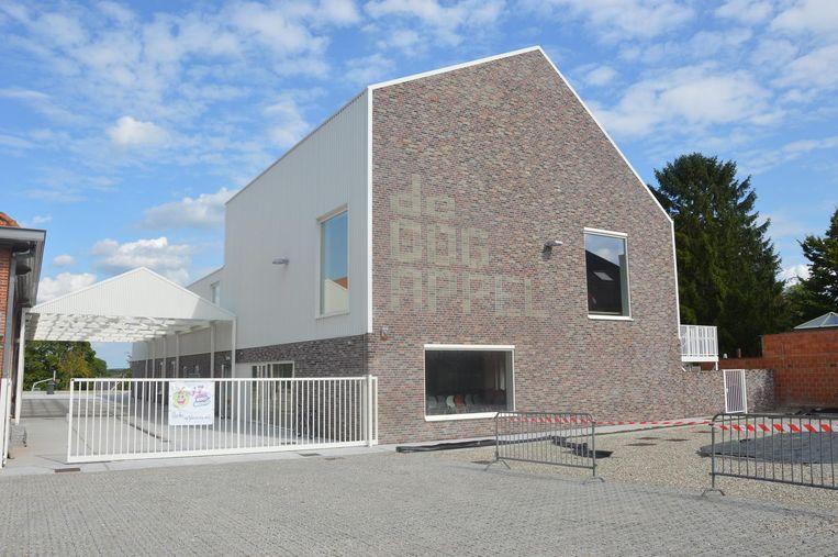 De nieuwbouw van de stedelijke basisschool De Oogappel.