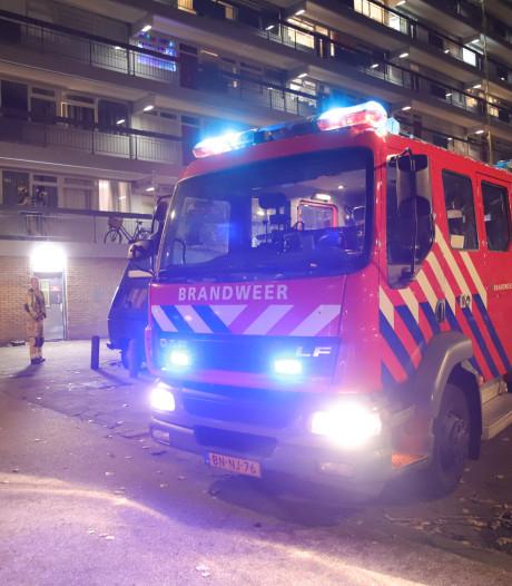 Vier gewonden door keukenbrand Lisztstraat
