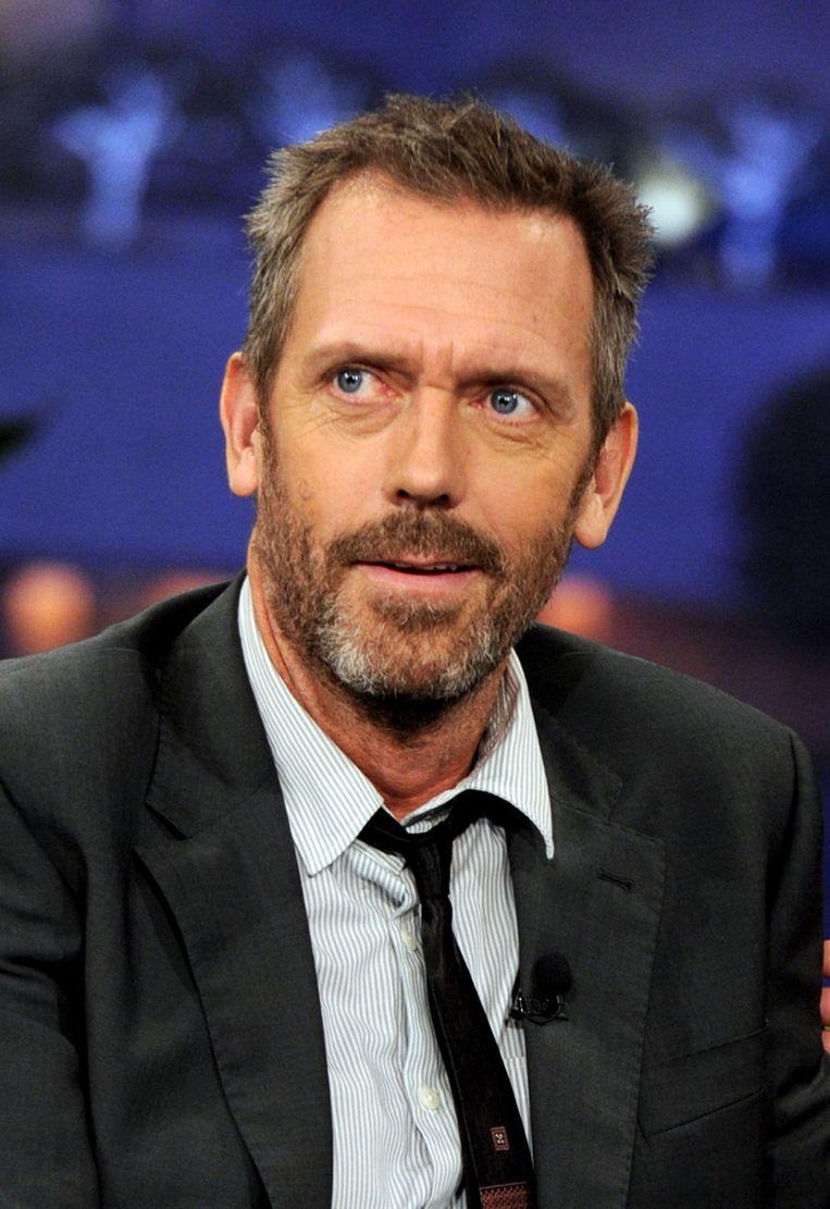 Hugh Laurie, hoofdrolspeler van House. Beeld getty