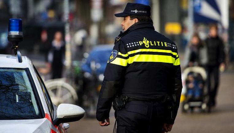 De politie trof de persoon onder verdachte omstandigheden aan Beeld anp