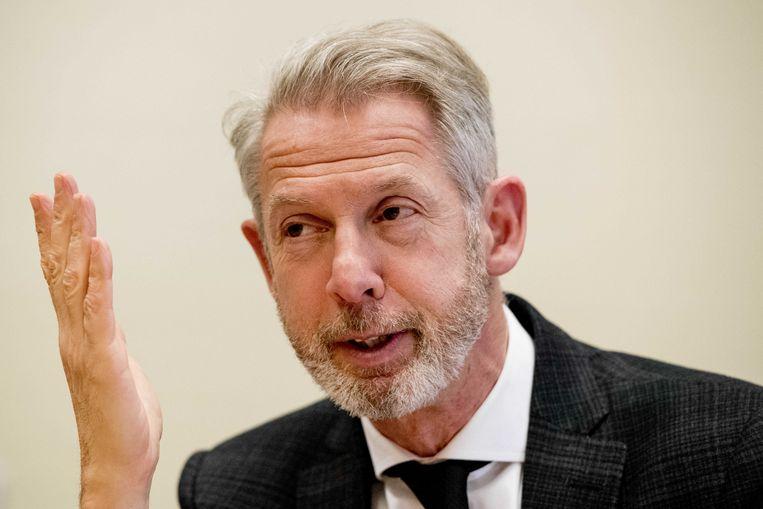 Onno Hoes, voorzitter van het Schakelteam voor personen met verward gedrag.  Beeld ANP