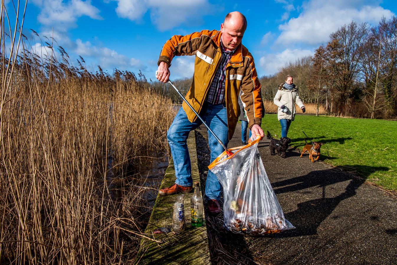 Alphenaar Joost van Berckel van de stichting Natuurzaam.