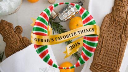 Artisanale Belgische speculooskoekjes halen Oprahs lijst met 'favorieten van dit jaar'