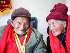 Een levenlang samen: Chinese eeuwelingen al 80 jaar getrouwd