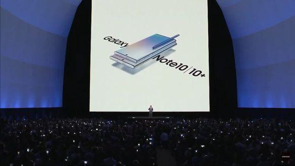 Samsung Galaxy Note 10.