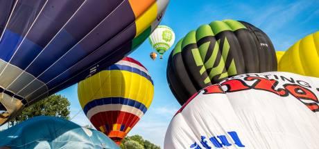 Heteluchtballonnen blijven wéér aan de grond in Winterswijk