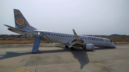 Piloot passagiersvliegtuig maakt geslaagde noodlanding met defect landingsgestel