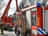 Asbak op balkon van flatgebouw vat vlam in Breda