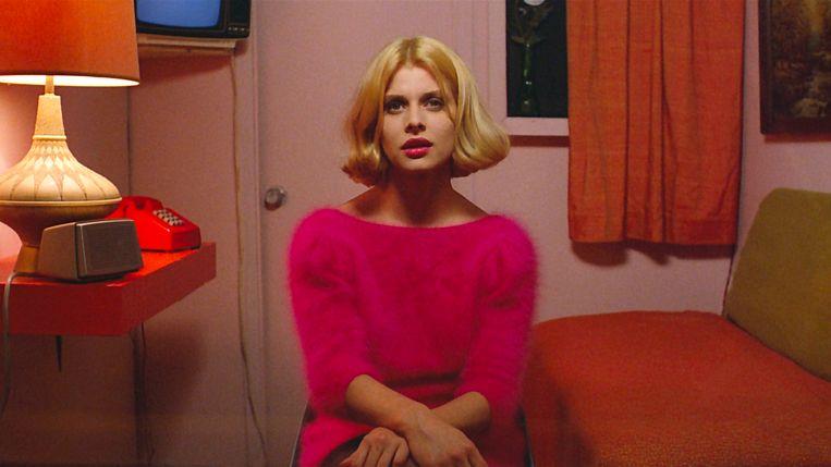 Nastassja Kinski in Paris, Texas (1984) van Wim Wenders. Robby Müller verzorgde voor die film het camerawerk. Beeld null