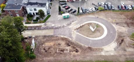 Fundering gesloopt OLDO-station ontdekt bij aanleg keerlus in Lemelerveld