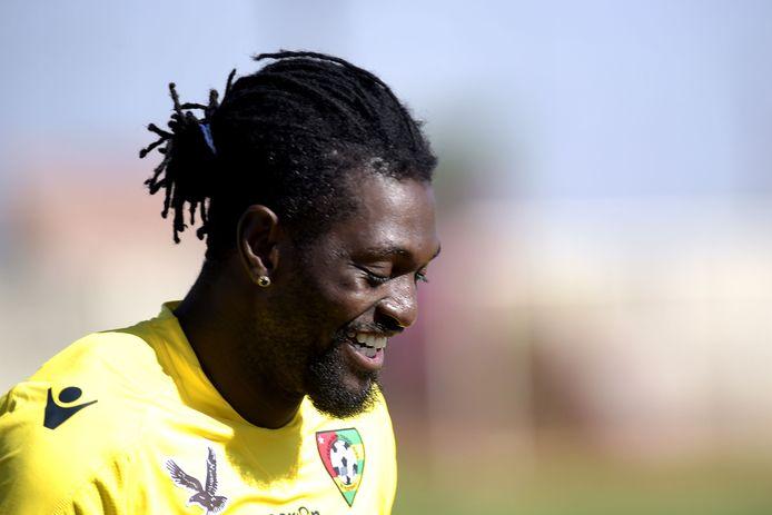 Emmanuel Adebayor.