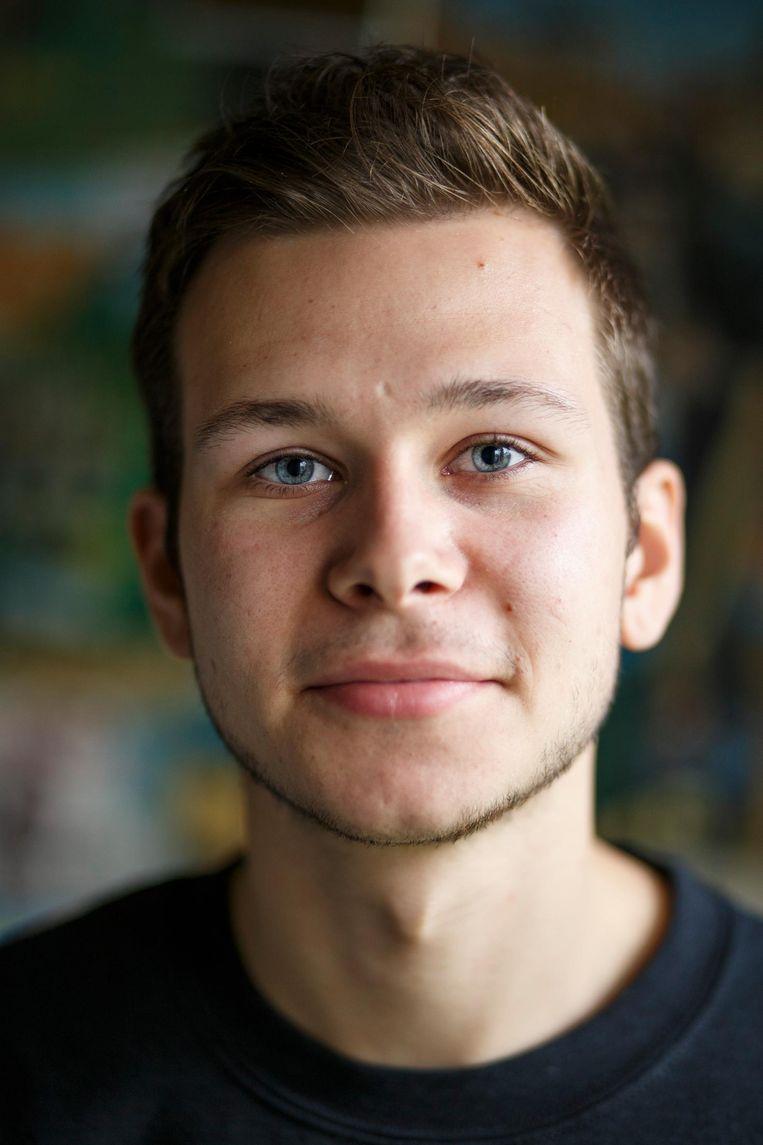 Jan van Trier (19) Beeld Carly Wollaert
