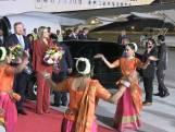 Koning Willem-Alexander landt in snikheet India voor staatsbezoek