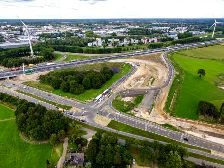 Forse extra reistijd voor weggebruikers tussen Zutphen en Deventer: N348 dit weekend dicht