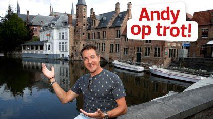 """Andy Peelman op trot in Brugge: """"Door de crisis komt er misschien eens grote kuis in al die chocoladewinkels in Brugge"""""""