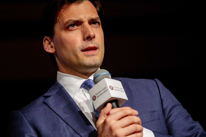 Voorman Thierry Baudet van Forum voor Democratie