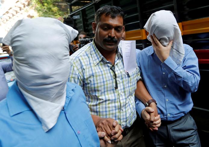 In India werden vorig jaar al mensen gearresteerd in verband met de bankfraude.
