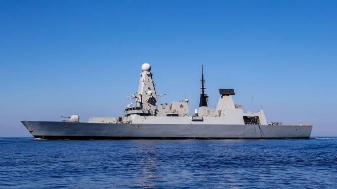 Tweede Brits oorlogsschip in de Golf aangekomen