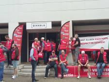Metaalwerkers voeren in Nijmegen actie voor meer loon