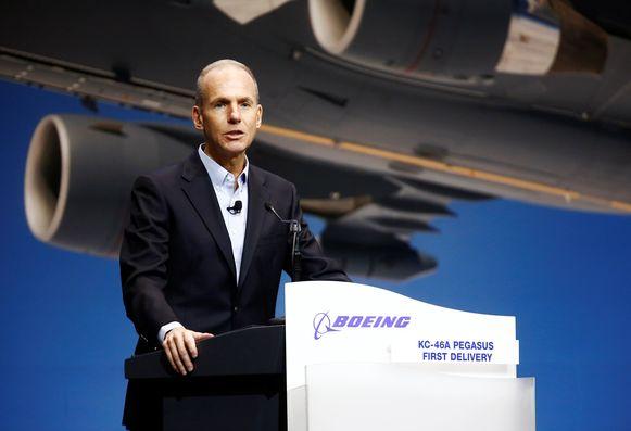 CEO bij Boeing, Dennis Muilenburg.
