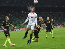 Sevilla met De Jong en Rekik boekt nipte overwinning op laagvlieger