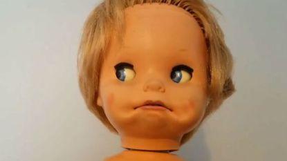 Griezelige pop jaagt twitteraars de stuipen op het lijf