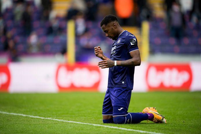 Encaissé en fin de rencontre: le péché mignon d'Anderlecht cette saison.