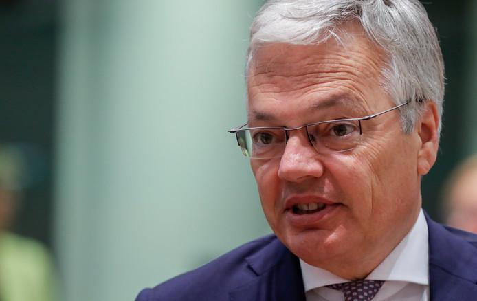 Le ministre des Affaires étrangères Didier Reynders (MR).