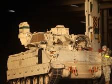 Amerikaanse soldaten omgekomen tijdens gevechtsoefening