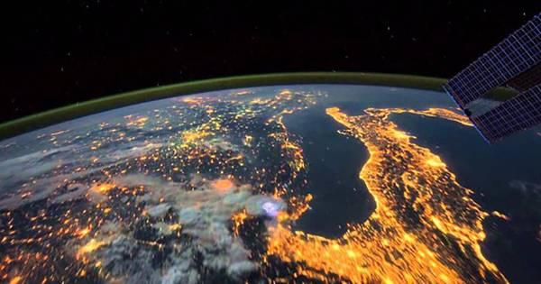 iss deelt nieuwe beelden van de aarde vanuit de ruimte