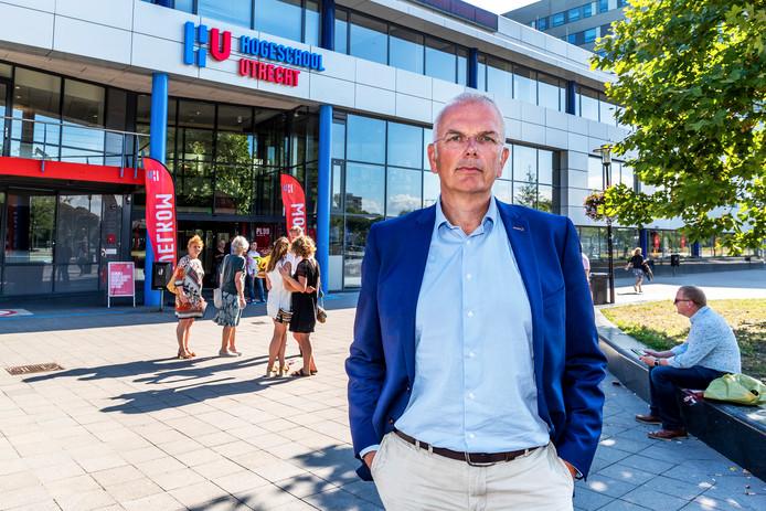 Jan Bogerd, voorzitter van het College van Bestuur van de  Hogeschool Utrecht