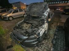 Auto in brand in Arnhem