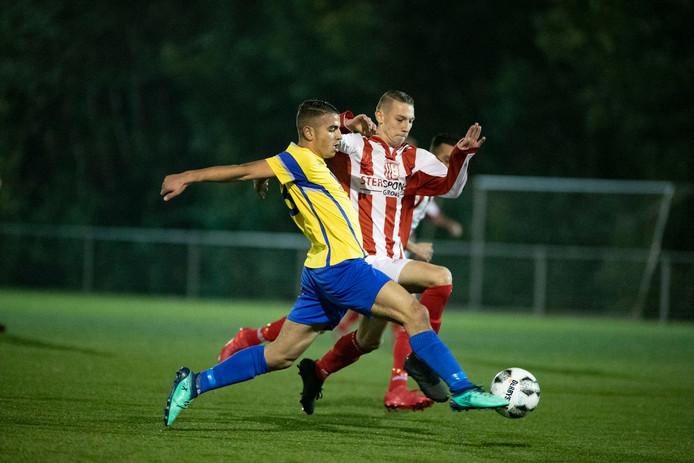 IJVV speelde onlangs de bekerwedstrijd tegen NSC op het kunstgrasveld van sportpark Den Uithoek in IJsselmuiden.