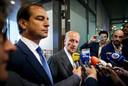 Theo Hiddema (FvD) licht in april toe dat Henk Otten niet kan aanblijven als bestuurslid.